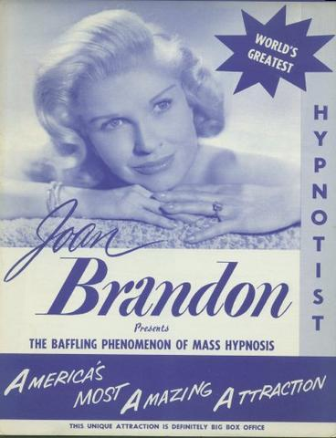 Joan Brandon female woman magic magician
